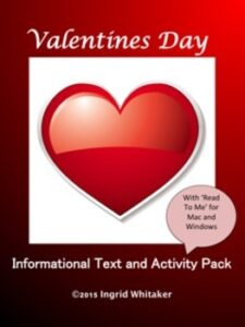 Valentine's Day Informational Text and Activities