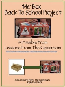 """Me"" Box – Back to School Project"