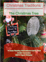 Christmas Informational Text Close Reading and Activities